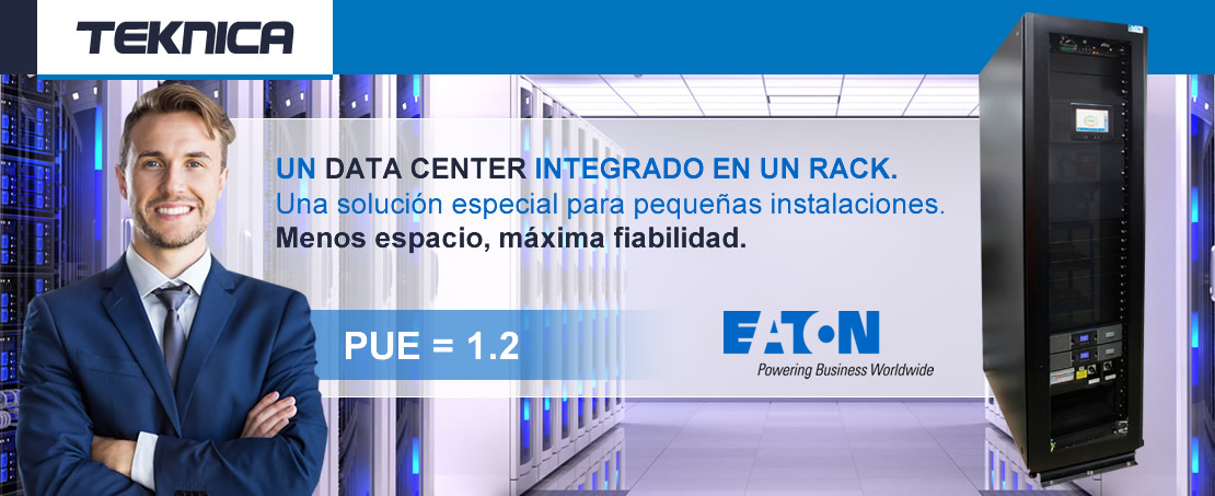 Un data center integrado en un rack