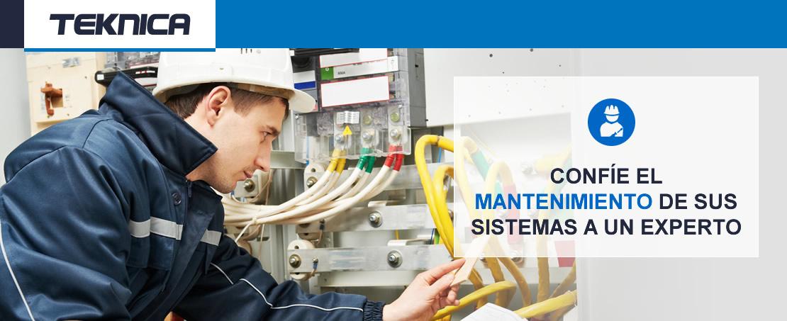 Confíe el mantenimiento de sus sistemas a un experto